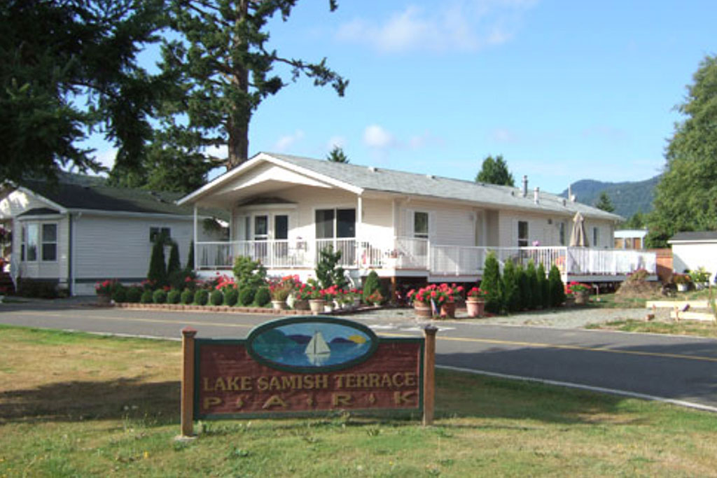 Lake Samish Terrace Park 55+ Community